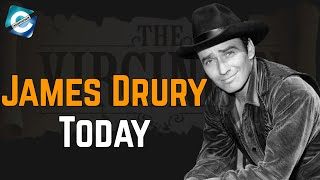 What is The Virginian Star James Drury Doing Now? Net Worth 2020