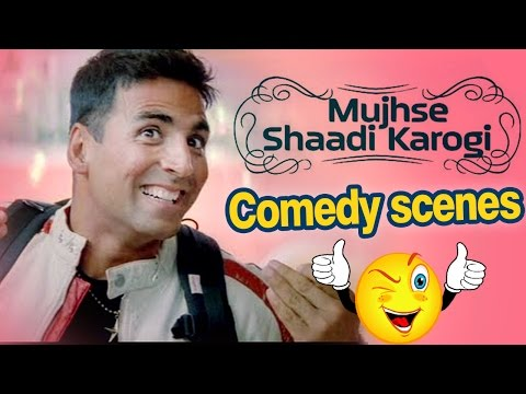 All Comedy Scene of Mujhse Shaadi Karogi -...