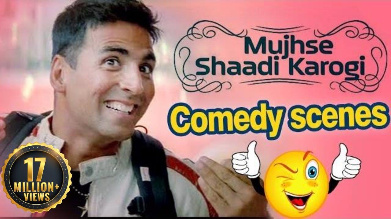 Download All Comedy Scene of Mujhse Shaadi Karogi - Salman Khan | Akshay Kumar | Priyanka Chopra