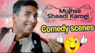 All Comedy Scene of Mujhse Shaadi Karogi - Salman Khan | Akshay Kumar | Priyanka Chopra