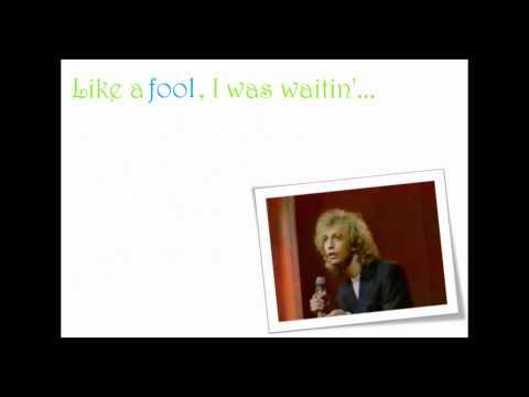 Robin Gibb Like A Fool Lyrics Video [HQ]