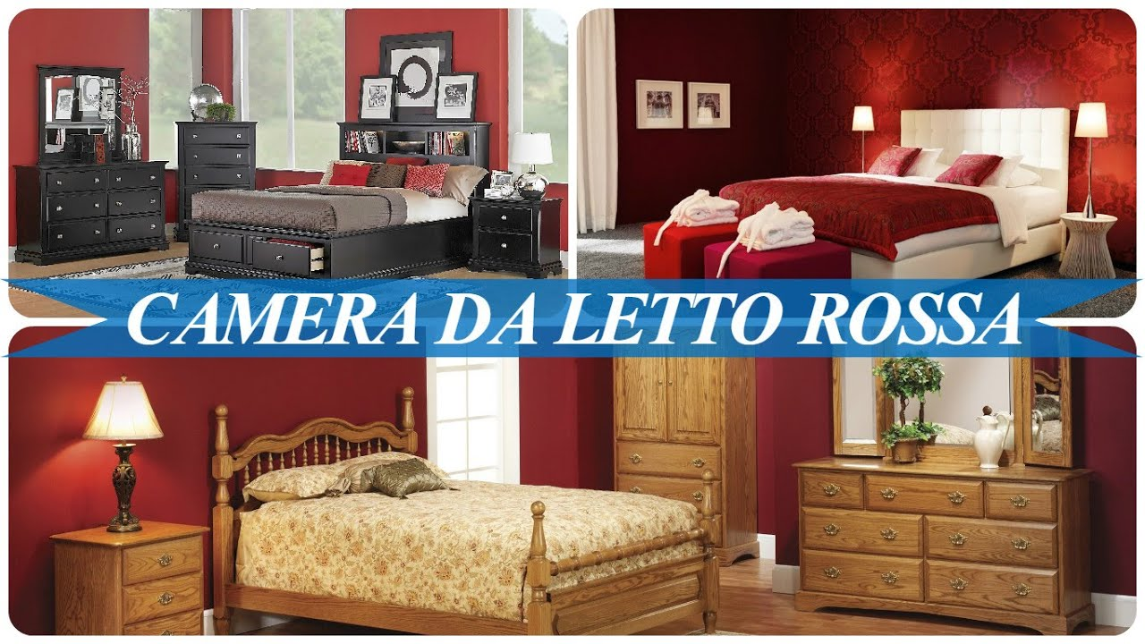 Camera da letto rossa - YouTube