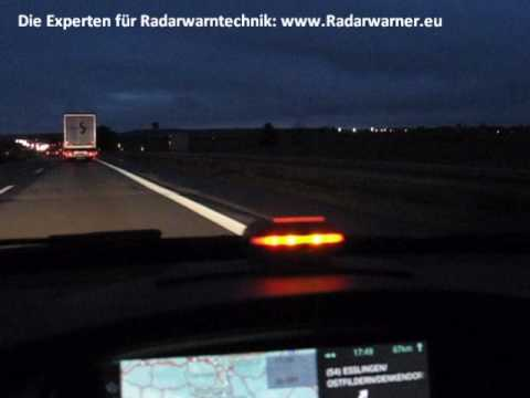 escort radarwarner 9500ix gps europa test