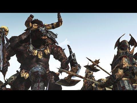 BEASTMEN vs VAMPIRE COAST | Cinematic Battle | Total War: WARHAMMER II |