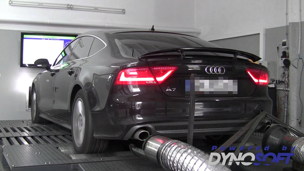 audi a7 3 0 tdi v6 biturbo 313ps tuning i hamownia dyno. Black Bedroom Furniture Sets. Home Design Ideas