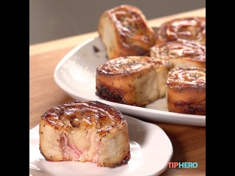 Ham & Cheese Roll-Ups