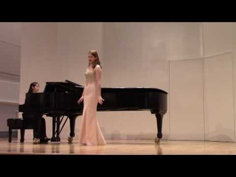 Cheyenne Cenk Manhattan School of Music Freshman Voice Recital 2016