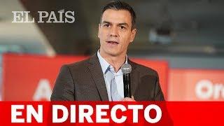 DIRECTO | Mitin de PEDRO SÁNCHEZ en Pamplona