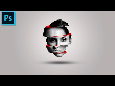 Уроки Фотошопа: Slice Effect Face 🔸Эффект Слайс на портрете