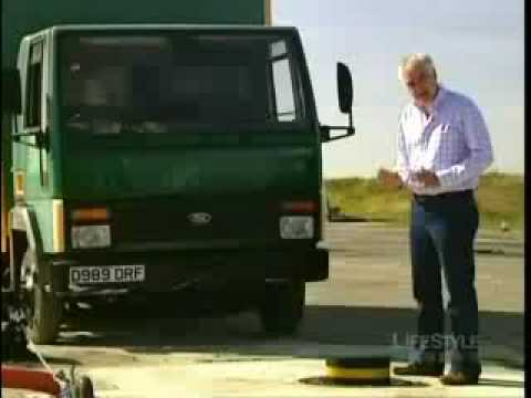 Truck vs Security Pillar Crash Test