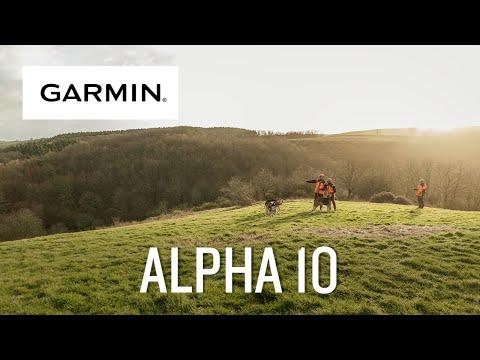 Garmin présente Alpha 10 : système de suivi et de dressage de chiens connecté au smartphone