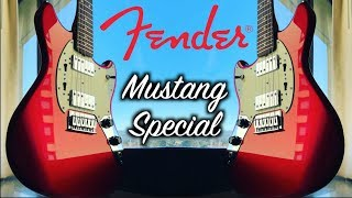 Fender Mustang Special - Awesome New Guitar Day