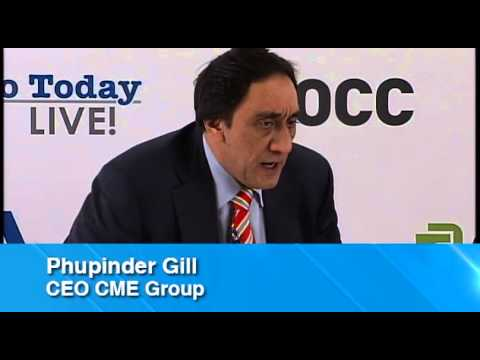Phupinder Gill, CEO, CME Group