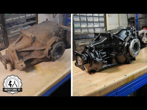 BMW E30 Limited Slip Differential Restoration