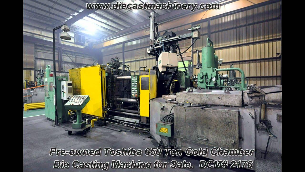 used chamber die machine