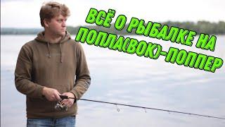 Как ловить на попла-поппер? Собираем снасти для рыбалки на попла-поппер