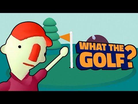 What The Golf? КАК ПРАВИЛЬНО ИГРАТЬ В ГОЛЬФ? Игра Прохождение