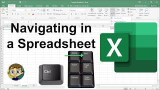 Navigating Within an Excel Spreadsheet - 2018 Tutorial