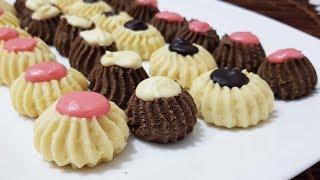 0 Pastane Kurabiyesi Tarifi-Ağızda Kum Gibi Dağılan Harika Papatya  kurabiye