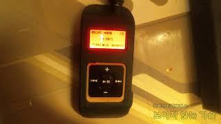 삼성 옙 YP-60 256MB 옙 스포츠 음악 재생 시…