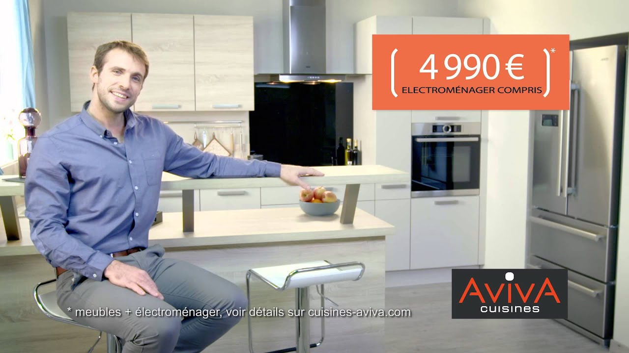 aviva cuisine spot publicitaire prix 2 youtube. Black Bedroom Furniture Sets. Home Design Ideas
