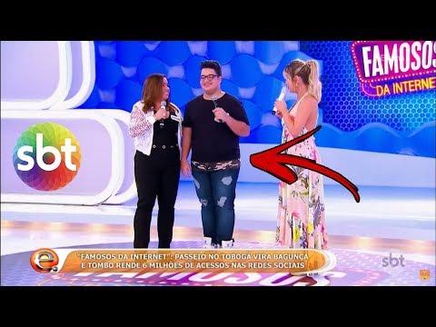 FUI EM UM PROGAMA DE TELEVISÃO