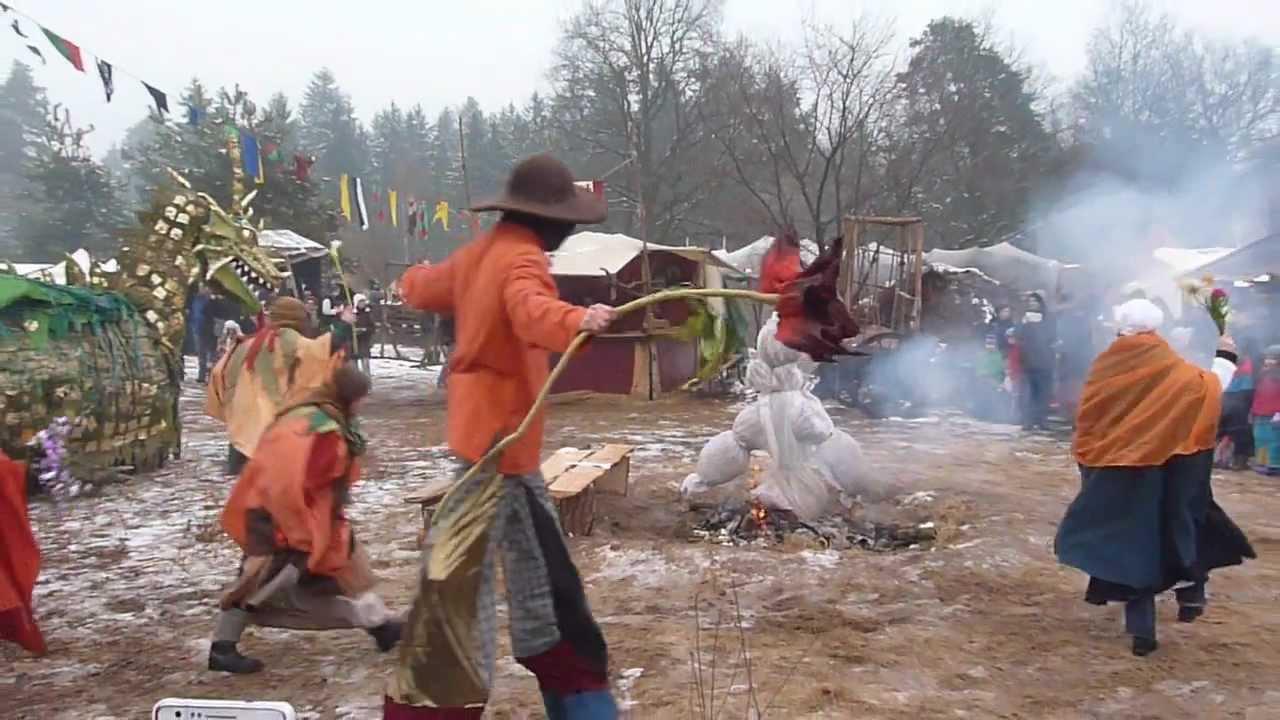 Winteraustreiben oster kloster fest chorin 2013 youtube - Lichternetz fa r tannenbaum ...