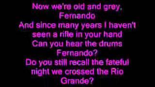 Download Abba - Fernando - Lyrics