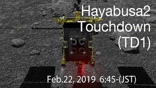 "[Mission Control Live] ""Hayabusa2"" Touchdown (TD1)(English) thumbnail"