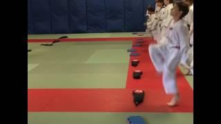 Karoon Taekwondo kids class