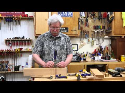 How to Cut Notches for a Mission-style Picnic Table