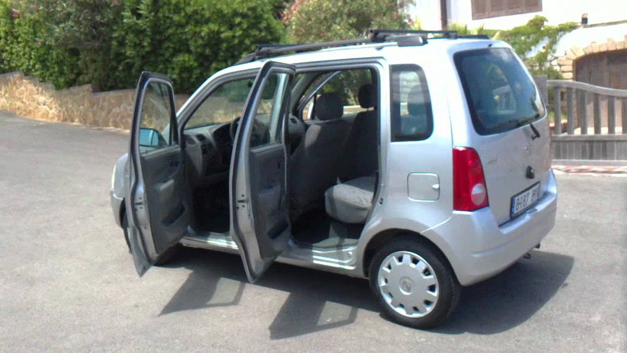 2002 opel agila 1 2 16v 5dr lhd for sale in spain youtube. Black Bedroom Furniture Sets. Home Design Ideas