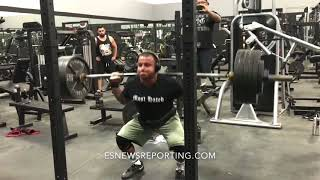 (MUST SEE) Pushing 555lbs!!! World Strongest Mexican BIG BOY - EsNews