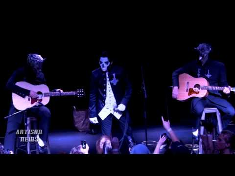 GHOST APPEARS FOR RARE BROOKLYN ACOUSTIC SHOW, AND STORE SIGNING
