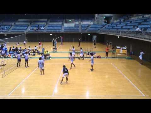 VC千葉ッツ 2015/08/29 マグナムカップ一次予選決勝 対TORYO TOKYO 第1セット