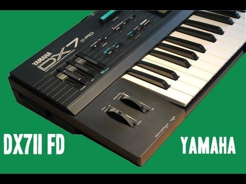 YAMAHA DX7 II FD + GREY MATTER E! installed | HQ DEMO