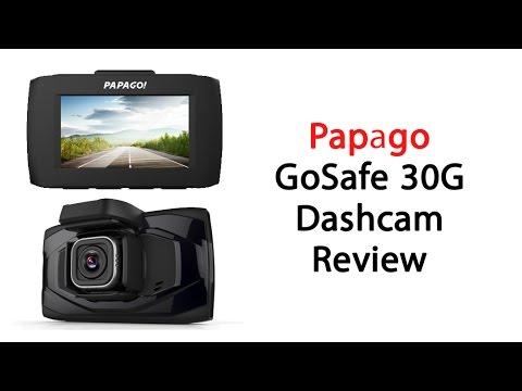 Papago GoSafe 30G Dash Cam Review
