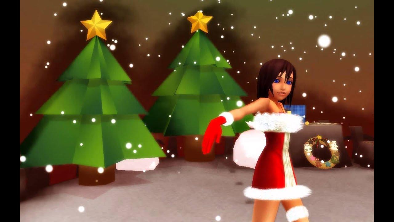 MMD x Kingdom Hearts] Christmas Kairi - Prism Heart - YouTube