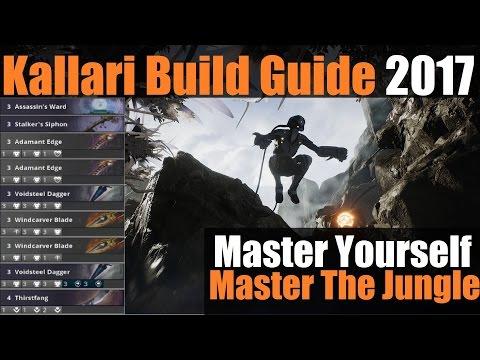 ►Kallari Build Guide 2017: Full Deck EXPLAINED | 'The Art Of An Assassin' | Paragon