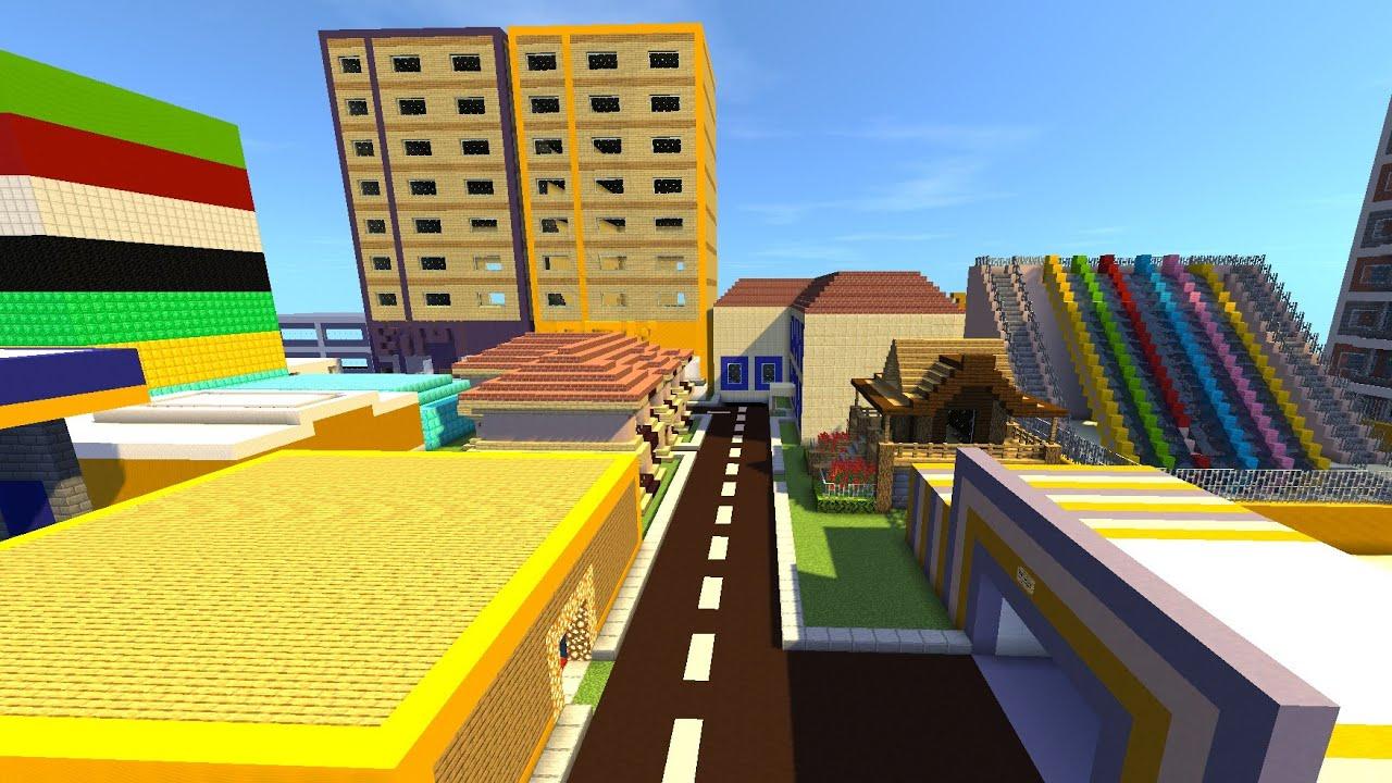 Minecraft parodileri şehri nasıl indirilir.