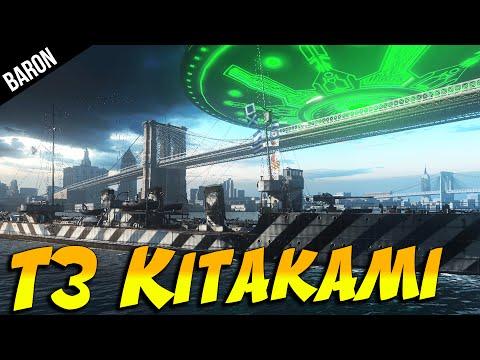 Tier 3 KITAKAMI!  Russian Torpedus (World of Warships Gameplay)