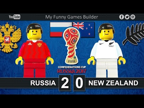 Russia vs New Zealand 2-0 • Confederations Cup Russia 2017 • 17/06/2017 • Lego Football Film