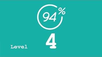 94 Prozent (94%) - Level 4 - Danach bin ich süchtig - Lösung