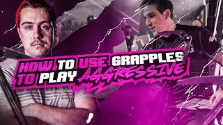 HOW TO USE GRAPPLES TO PLAY AGGRESSIVE IN BLACKOUT!! CRAZY 22 BOMB! (Call of Duty: Blackout)