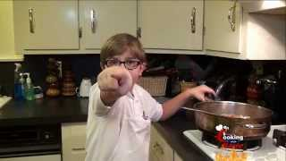 Cooking With Kade Makes A Cajun Meat Pie And His Better Cheddar Recipe On Cajun Tv Network