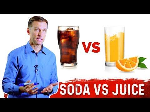 Soda vs 100 Percent Real Fruit Juice: What is Healthier?