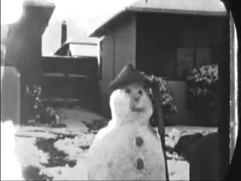 It Does Snow in Sunnyvale California (Silicon Valley) Jan. 21, 1962
