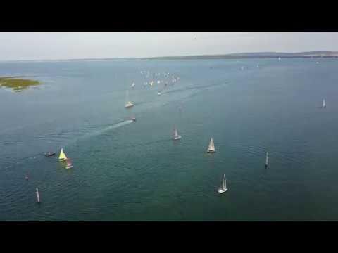 Dinghy Sailing in Lymington River