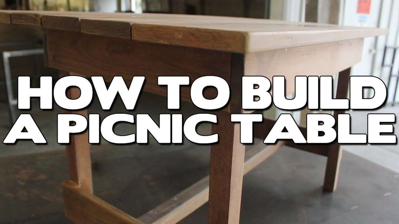 How To Build A Picnic Table Out Of Advantage Ipe™