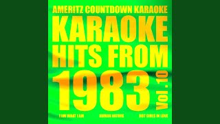 How Many Times Can We Say Goodbye (In the Style of Dionne Warwick and Luther Vandross) (Karaoke...